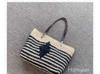 かぎ針編みトートバッグ